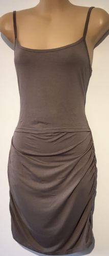 PURPLESS LONG MOCHA BROWN CAMI MATERNITY/NURSING VEST TOP BNWT SIZE 10